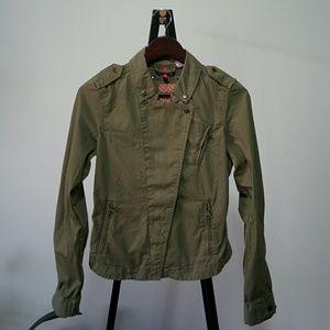 Army Green Moto Jacket